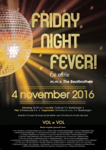 Klik op afbeelding voor de foto's van Friday Night Fever 4 november 2016